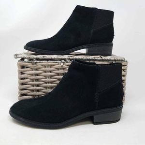 NWOB Sperry Womens Ankle Boots Black Cuban 9  E1E